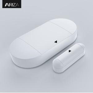 130db Door Open Chime Alert Wireless Magnetically Door Window Alarm Sensor with Remote Controls