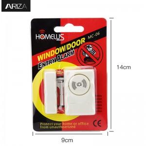 Door Windows Alarm for DIY Home Security Protection Anti-Theft Burglar Alert 115 DB Alarm Systems