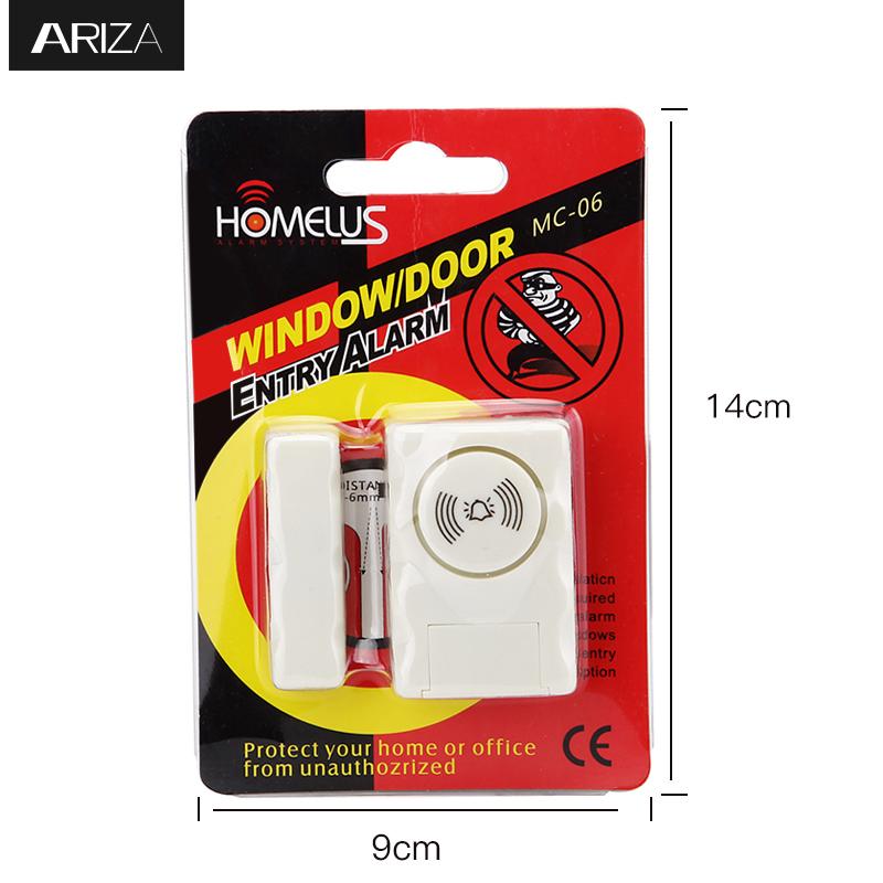 Door Windows Alarm For Diy Home Security Protection Anti Theft Burglar Alert 115 Db