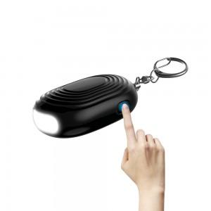 130 db Safe sound Personal Alarm Key chain  Safety Emergency Alarm with LED Safety SOS Emergency Alarm
