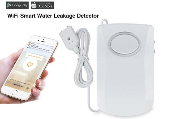 Smart wifi water leak alarm