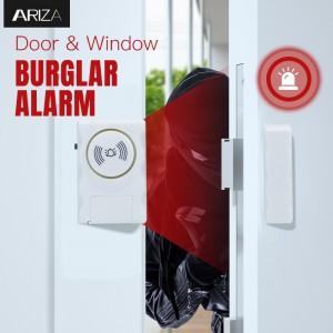 115 Decibel Alarm or Entry Chime Indoor Personal Security Keypad Activation Wireless Door Alarm