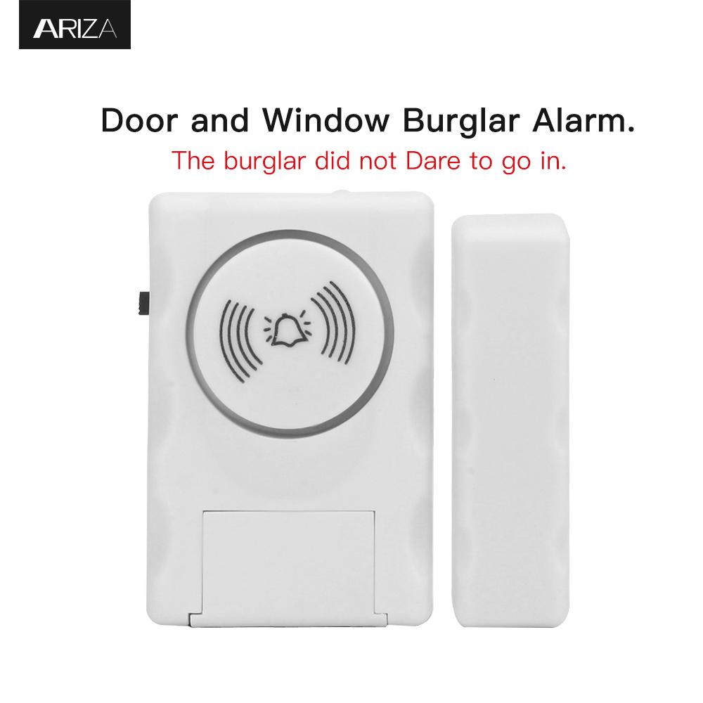 115 Decibel Alarm or Entry Chime Indoor Personal Security Keypad Activation Wireless Door Alarm Featured Image