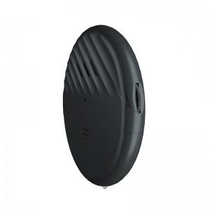 9mm Ultra-Slim Round adjustable sensitive alarm vibration window door touch sensor alarm