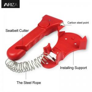 Cheap PriceList for Car Safety Hammer Life Saving Escape Emergency Hammer Seat Belt Cutter Window Glass Breaker Car Rescue Red Hammer