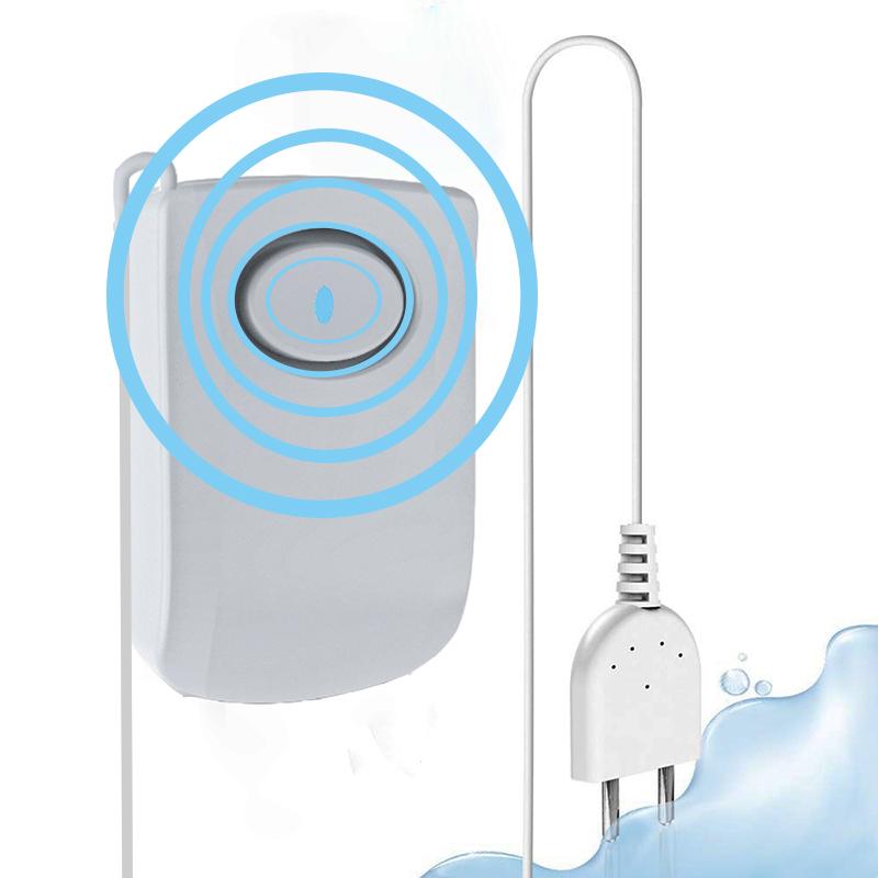 130dB Work Alone Home Security Leak Alert Flood Alarm Water Leak Sensor Detector Featured Image