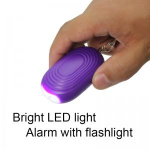 Amazon mest solgte selvforsvar OEM-fabrik pris personlig sikkerhed alarmudstyr med LED lys