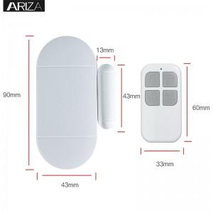 Remote control home security alarm wireless security alarm system door sensor alarm