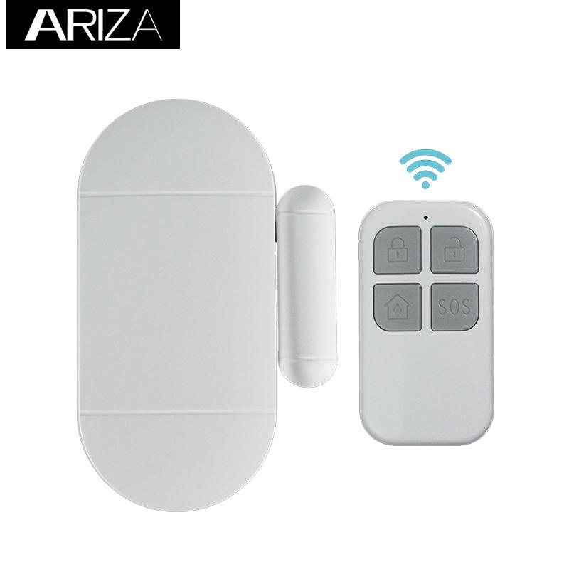 DIY EASY to Install LOUD 120 dB Siren Wireless Home Security Door Window Burglar Alarm Featured Image