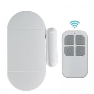 Shenzhen Gyártó Wireless Ajtóriasztás távirányító mágneses érzékelő ajtó ablak Riasztás Business Security
