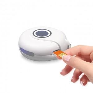 GPS Tracking System SIM Card Emergency Self Defence Key Chain Smart Alarm