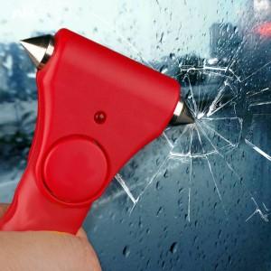 Car Escape Hammer Alarm Vehicle Window Breaker Emergency Car Glass Breaker Seatbelt Cutter