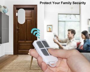 DIY EASY to Install LOUD 120 dB Siren Wireless Home Security Door Window Burglar Alarm